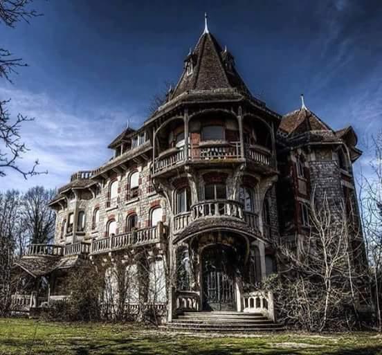 gothic victorian mansion