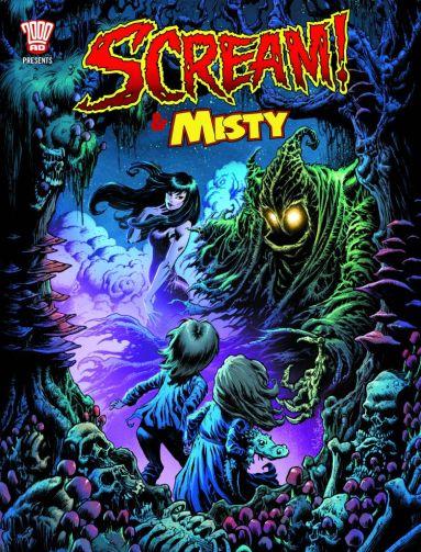 Misty and Scream Comic 2017