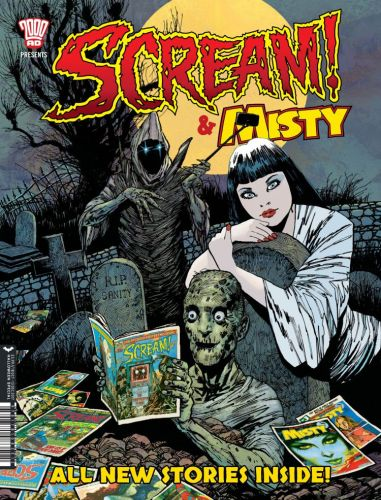 Scream and Misty Comic Halloween Special 2018