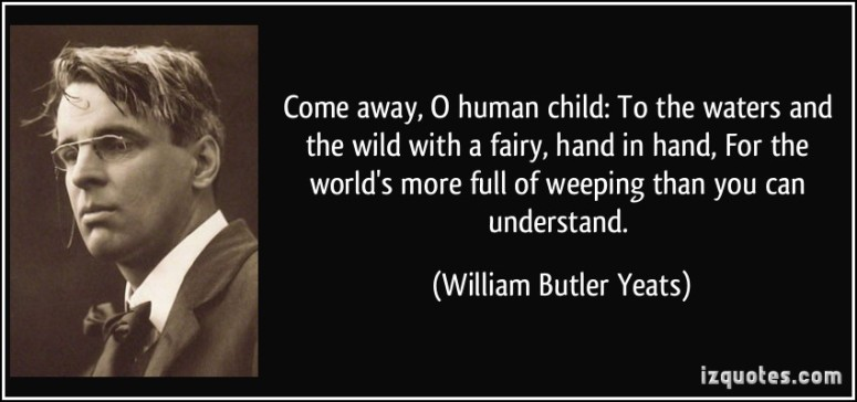 William butler yeats meme 2