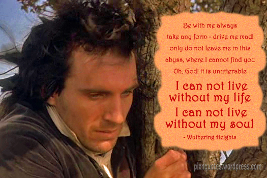 Heathcliff quotes