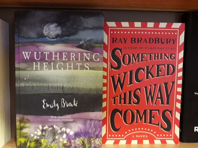 Wuthering Heights and Something Wicked this Way Comes