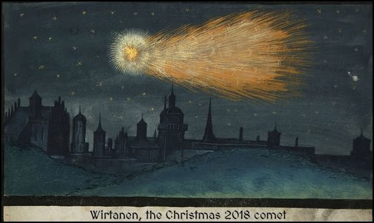 The Christmas Comet Art