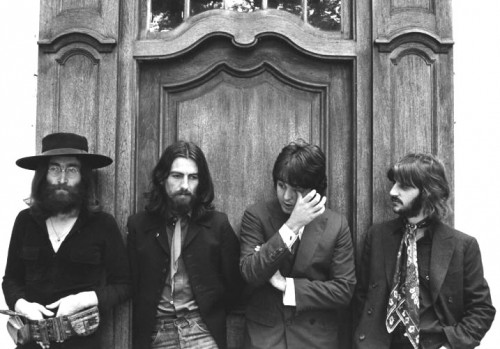 beatles long hair
