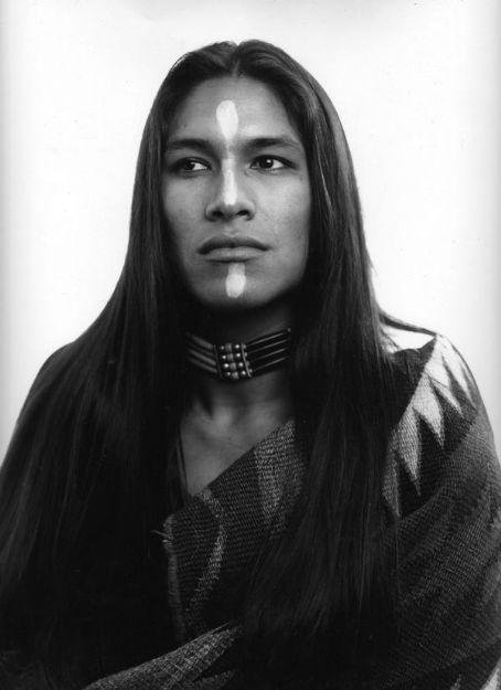 native american indian male