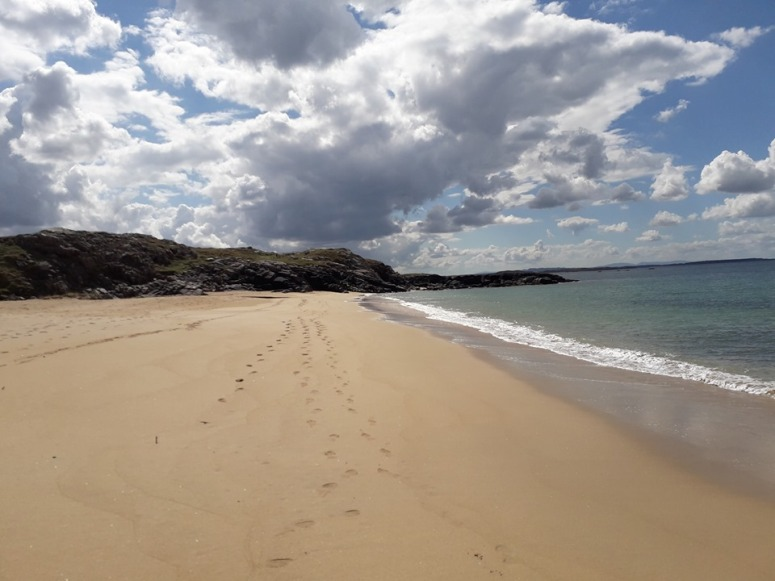Beach in Donegal Ireland