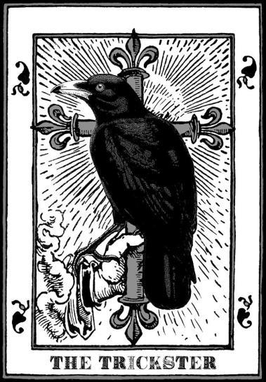 The Trickster Crow Tarot