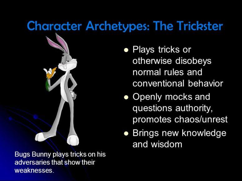 Trickster Caracter Archetype Meme