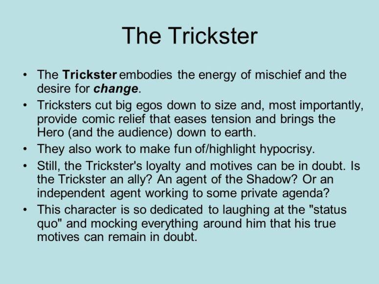 Trickster Characteristics