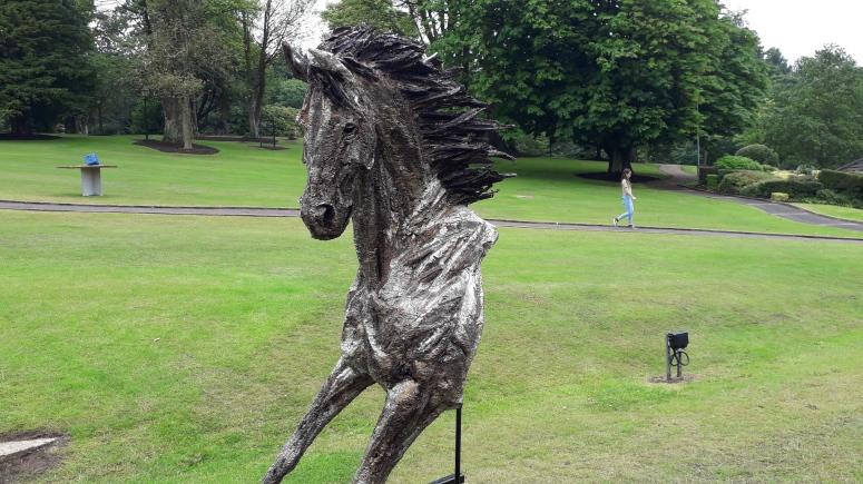 Eamonn Higgins Legend of the Lough Horse Sculpture