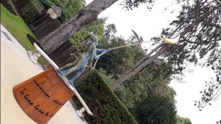 Giacinto Bosco Luna Caprese Bronze Moon Sculpture