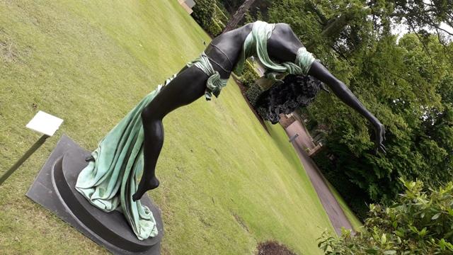 Seven Veils Bronze Sculpture Paddy Campbell