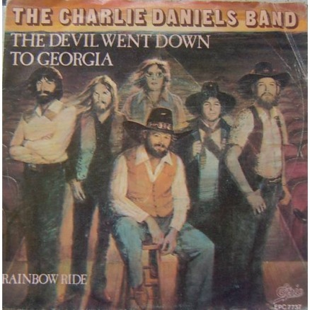 The Devil Went Down to Georgia 45 Single