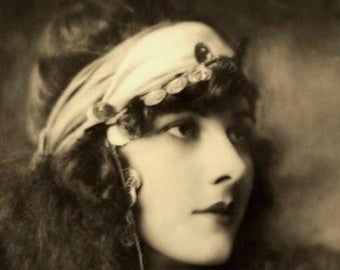 Vintage Gypsy Lady photo