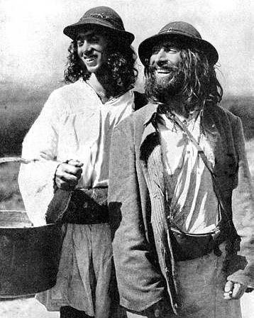 Vintage Gypsy Men Photo