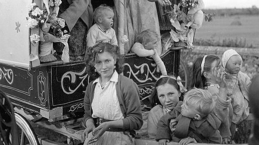 Vintage Irish Gypsies photos