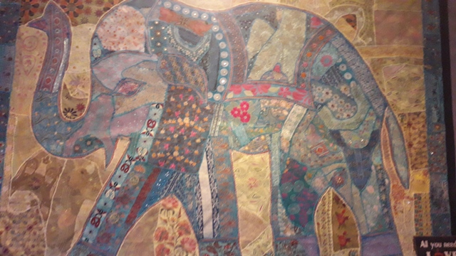 Cafe Ganesh Donegal Ireland Elephant Wall Tapestry