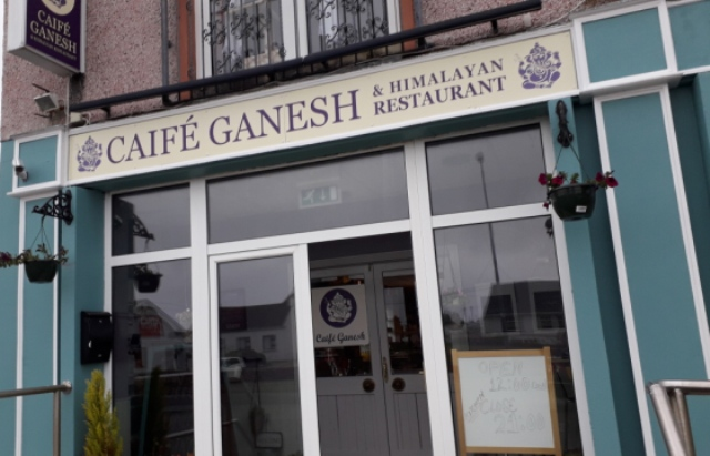 Caife Ganesh and Himalayan Restaurant Bunbeg Gweedore Donegal Ireland