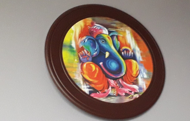 Caife Ganesh Donegal Ganesh Painting