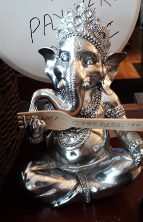 Caife Ganesh Metal Ganesh statue Donegal