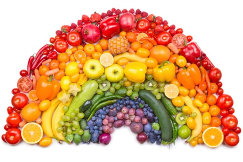 Eat the Rainbow Rainbow Diet Supernatural Hippie