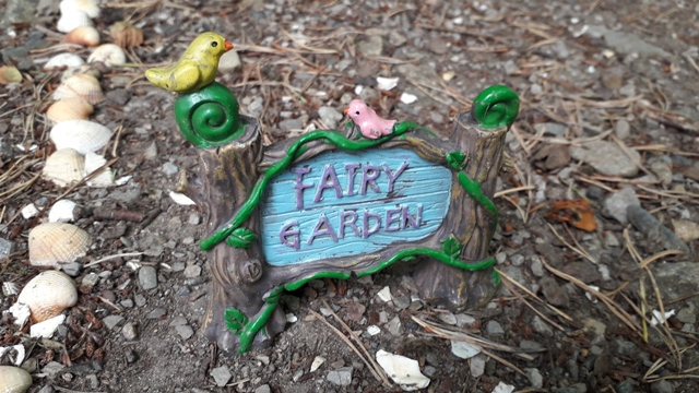 Fairy Garden Sign Fairy Tree Donegal Ireland