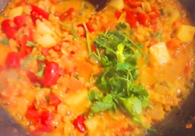 Heart Shaped Vegetarian Vegan Curry Recipe