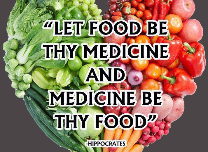 Hippocrates Let Thy Food be Thy Medicine