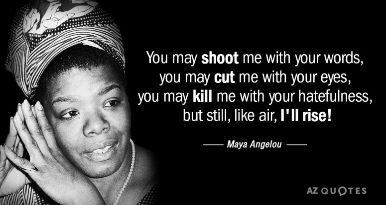Maya Angelou Quote Still I Rise