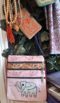 Pink Elephant Bag Caife Ganesh Bunbeg Gweedore Donegal Ireland