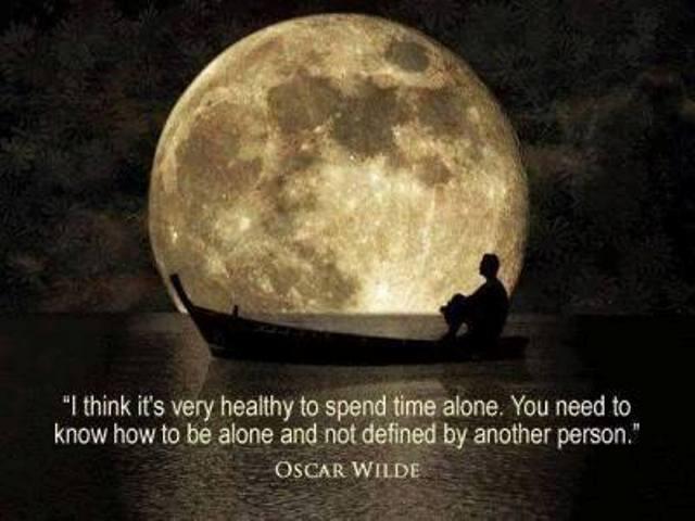 solitude quote oscar wilde