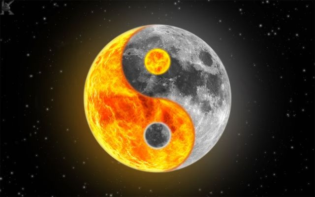 Sun and Moon Yin and Yang Mr Eclipse