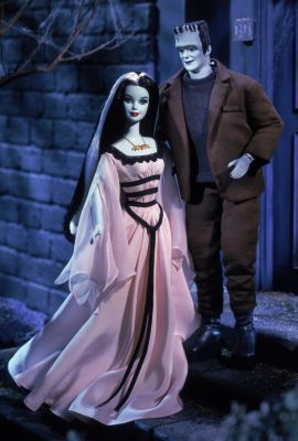 The Munsters Barbie Dolls Barbie and Ken