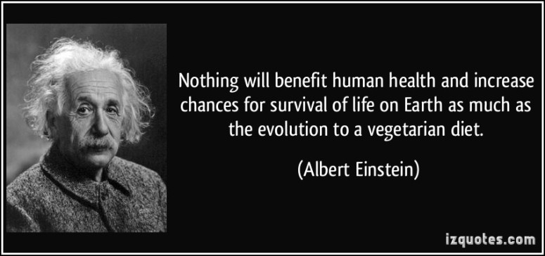 VegetarianSpirituality Einstein Quote Supernatural Hippie