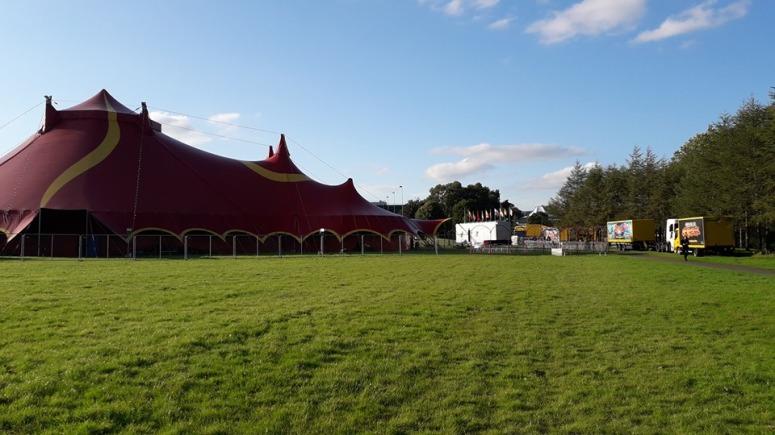 Extreme Circus Big Tent