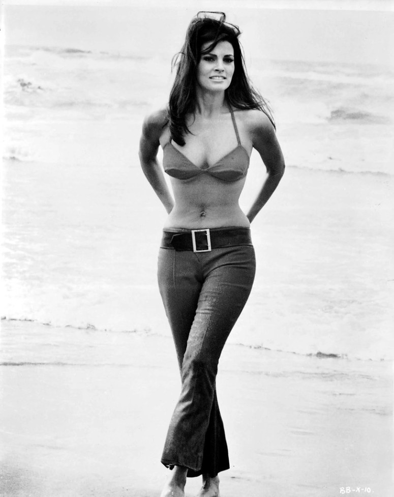 Raquel Welch Beach