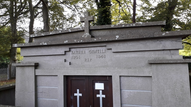 Father Aloysius Luigi Gentili Tomb Ireland