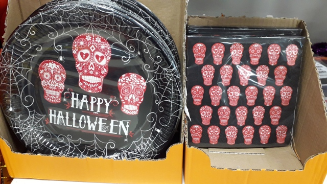 Halloween Napkins and Plates