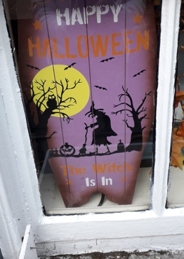 Happy Halloween Window