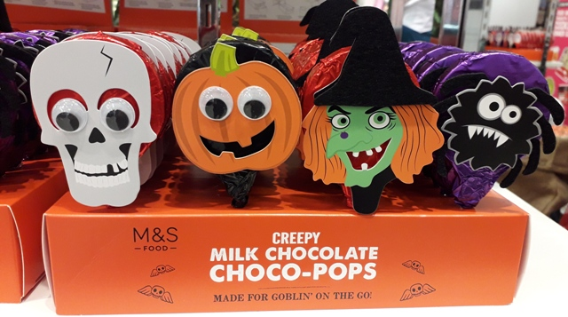 Marks and Spencers Creepy Choco Pops