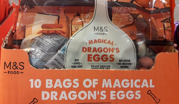 Marks and Spencers Magical Dragons Eggs