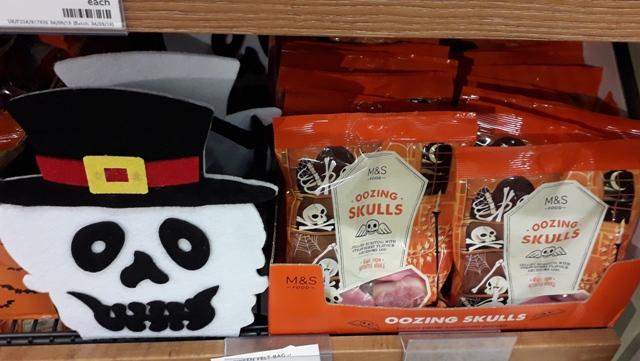 M&S Halloween Stuff