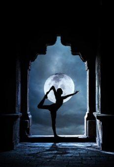 Natarajasana Shiva Lord of the Dance Pose Full Moon