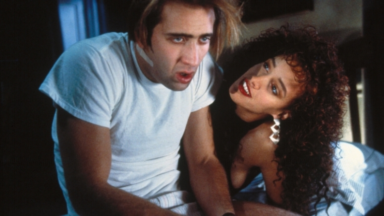 Nicholas Cage and Jennifer Beals