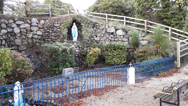 Our Ladys Shrine Virign Mary Grotto Ireland