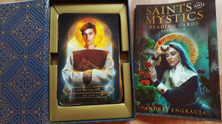 Saints and Mystics Reading Cards Saint Anthony