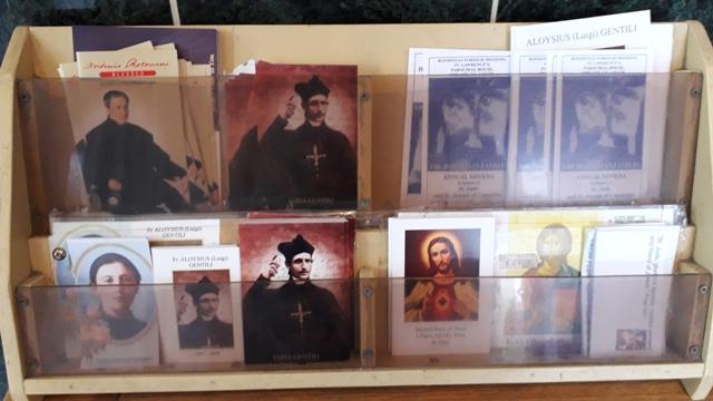 Saints cards