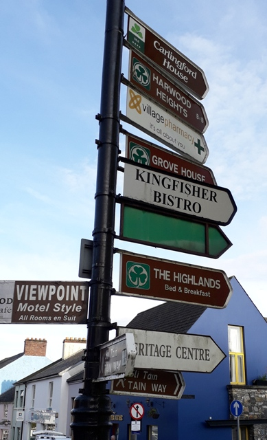 signpost Carlingford