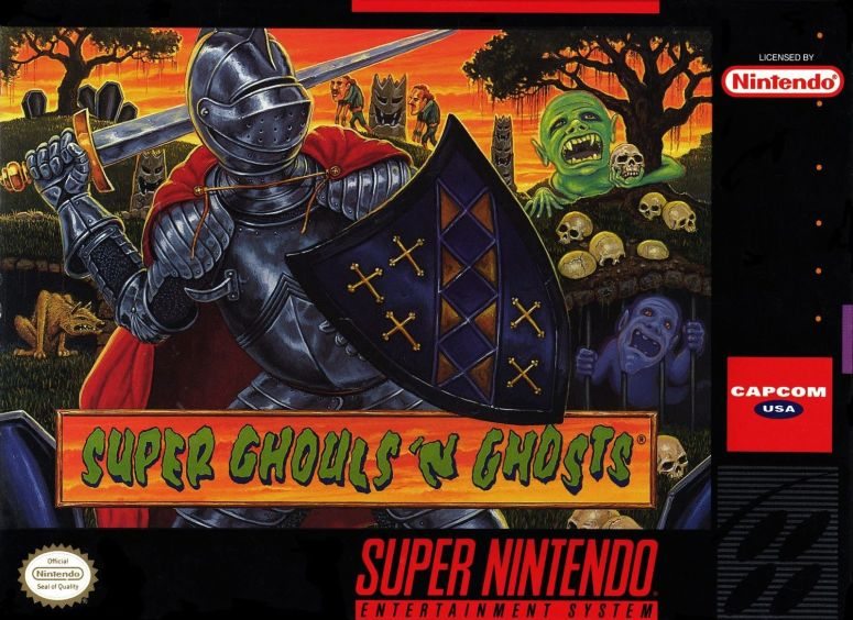super Ghouls and ghosts super nintendo