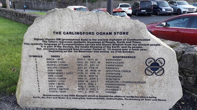 The Carlingford Ogham Stone